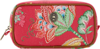 Pip Studio Cosmetic Bag Square Small Jambo Flower Red