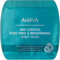 Ahava Time to Smooth Age Control Even Tone & Brightening Sheet Mask