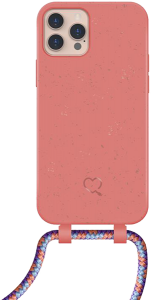 Lotta Power SoftCase Handy-Kette Organic Coral iPhone 12/12 Pro
