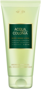 No.4711 Acqua Colonia Blood Orange & Basil Aroma Shower Gel with Bamboo Extract