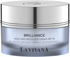 La Vivana Brilliance Neck and Decolleté Cream, SPF15