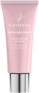 La Vivana Snow Brilliance Moisturizing Gel Mask