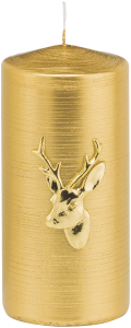ba-exclusive Candle Chic Deer Gold