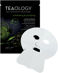 Teaology Green Tea Miracle Face and Neck Mask