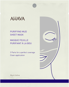 Ahava Time to Clear Purifying Mud Sheet Mask
