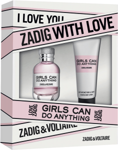 Zadig & Voltaire Girls can do Anything Set E.d.P. Set 2-teilig