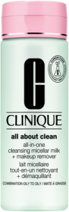 Clinique All About Clean All-in-One Cleansing Micellar Milk + Makeup Remover ST 3 & 4