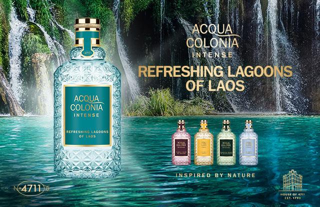 Neu: 4711 Acqua Colonia Intense Refreshing Lagoons of Laos - jetzt entdecken