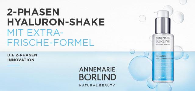 Annemarie Börlind 2-Phasen Hyaluron-Shake - jetzt entdecken