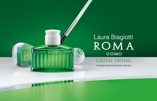 Neu: LAURA BIAGIOTTI Roma Uomo Green Swing - jetzt entdecken