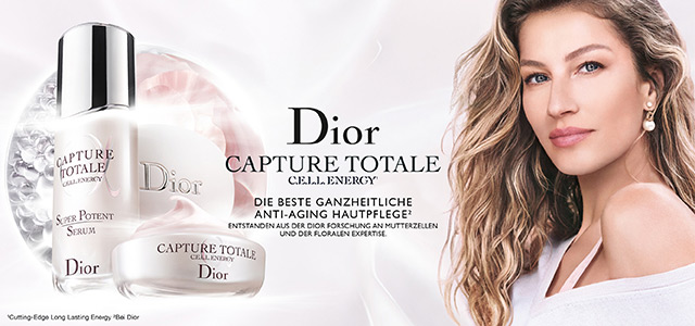 DIOR CAPTURE TOTALE CELL ENERGY - jetzt entdecken