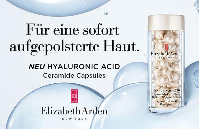 Neu: Elizabeth Arden Hyaluronic Acid Ceramide Capsules - jetzt entdecken