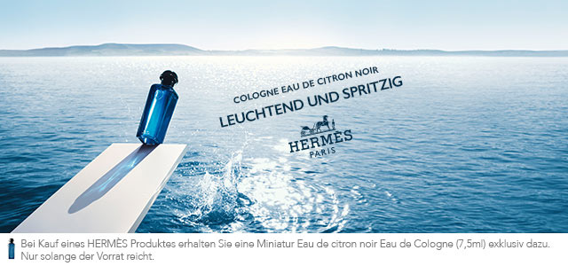 NEU: Hermès Eau de citron noir - jetzt entdecken