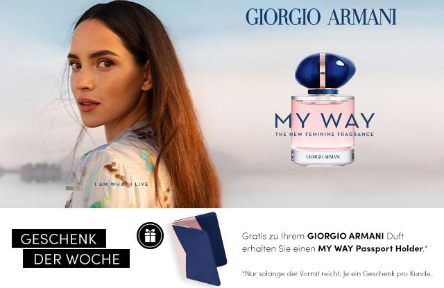 Neu: GIORGIO ARMANI My Way - jetzt entdecken