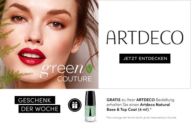NEU: ARTDECO GREEN COUTURE - jetzt entdecken