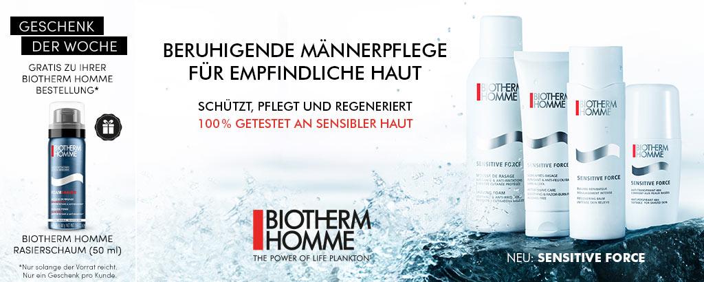 NEU: Biotherm Homme Sensitive Force - jetzt entdecken