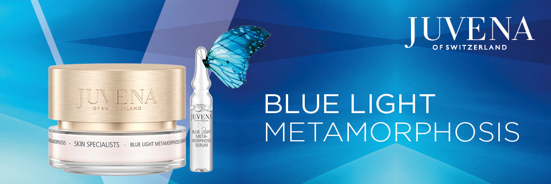 Neu: JUVENA Skin Specialists Blue Light Metamorphosis - jetzt entdecken