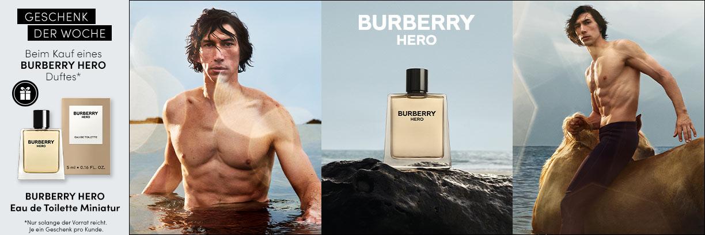 Neu: BURBERRY Hero Eau de Toilette - jetzt entdecken