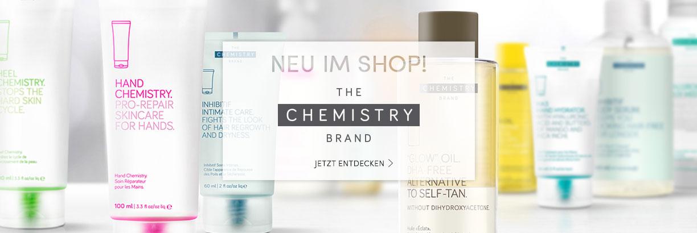 Neu im Shop: THE CHEMISTRY BRAND - jetzt entdecken