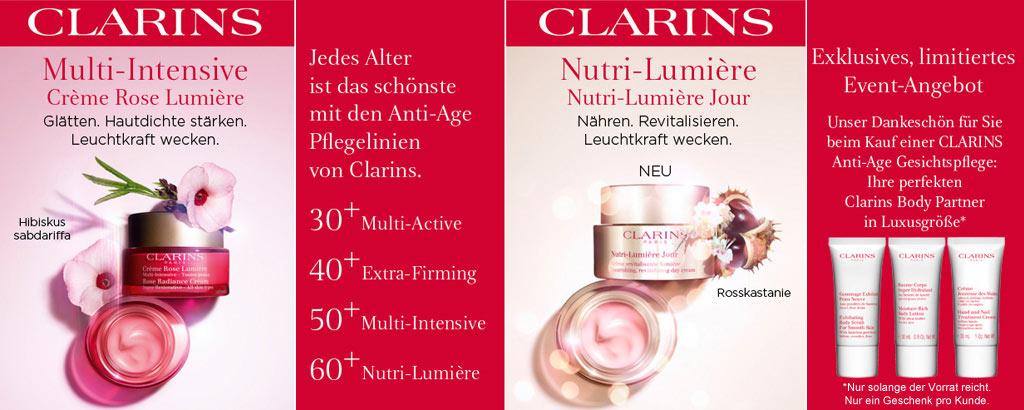 Clarins Anti-Aging - Jedes Alter ist das schönste - jetzt entdecken