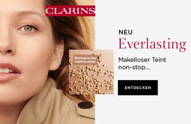 Neu: CLARINS Everlasting Fluid Foundation - jetzt entdecken