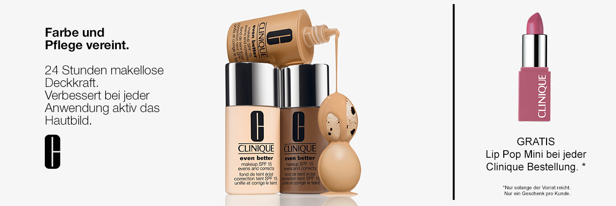 Clinique Even Better Make-up - jetzt entdecken