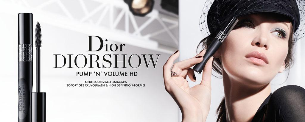 NEU: Diorshow Pump 'N' Volume HD - jetzt entdecken