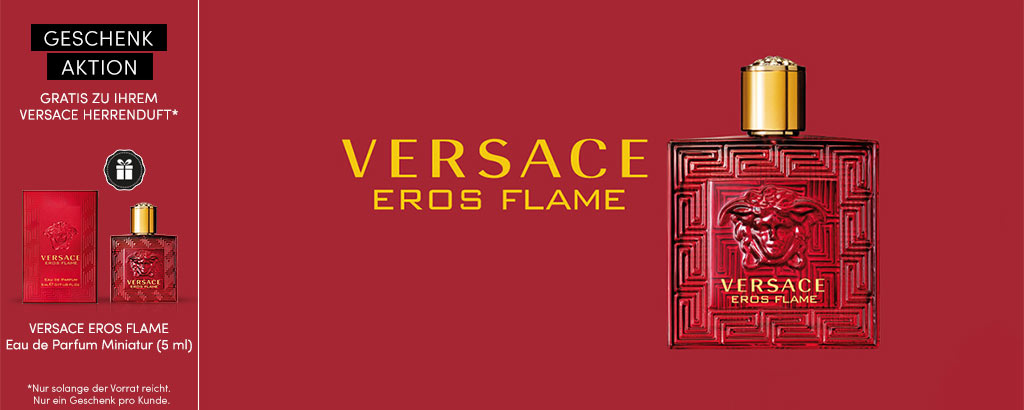 NEU: Versace Eros Flame Eau de Toilette + Geschenk