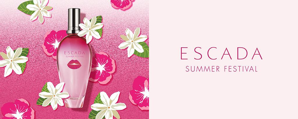 Neu: ESCADA Summer Festival - jetzt entdecken
