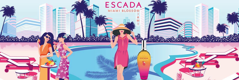 LIMITIERT: ESCADA Escada Miami Blossom Eau de Toilette - jetzt entdecken