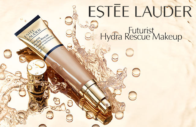 NEU: Estée Lauder Futurist Hydra Rescue Moisturizing Make-Up - jetzt entdecken