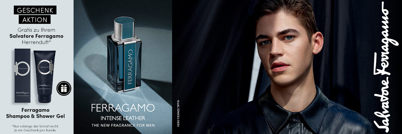 Neu: Salvatore Ferragamo Intense Leather - jetzt entdecken
