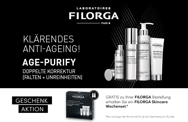 Neu: FILORGA AGE-PURIFY - jetzt entdecken