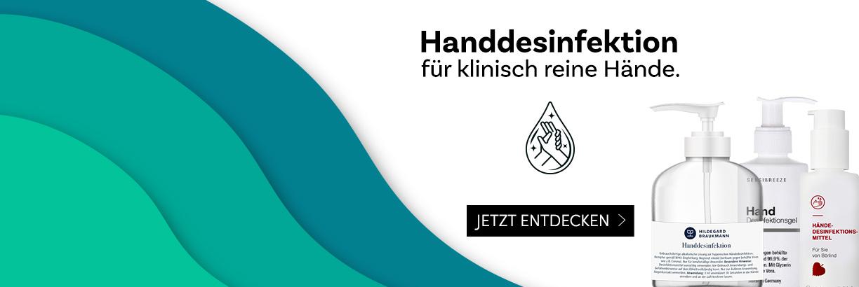 Handdesinfektionsmittel bei parfuemerie.de - jetzt entdecken