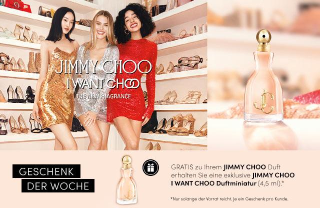 NEU: Jimmy Choo I WANT CHOO - jetzt entdecken