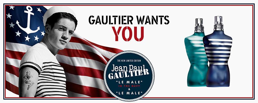 NEU: Jean Paul Gaultier Le Male in the Navy - jetzt entdecken