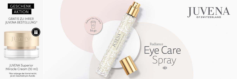 Neu: JUVENA Radiance Eye Care Spray - jetzt entdecken