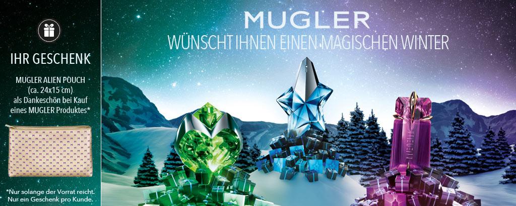 MUGLER wünscht Ihnen einen magischen Winter - jetzt entdecken