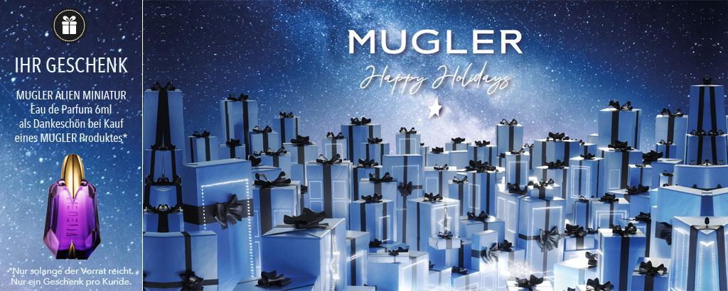 Zauberhafte Weihnachten mit MUGLER - jetzt entdecken