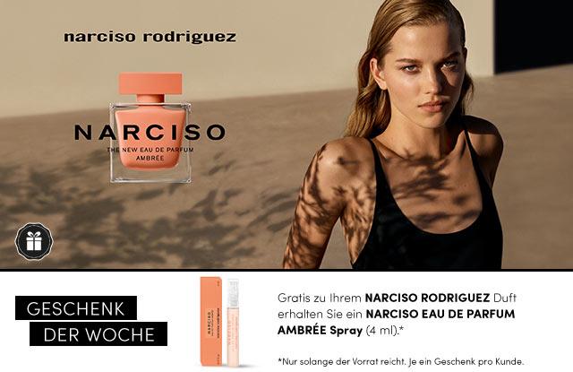 Narciso Rodriguez NARCISO EAU DE PARFUM AMBRÉE - jetzt entdecken