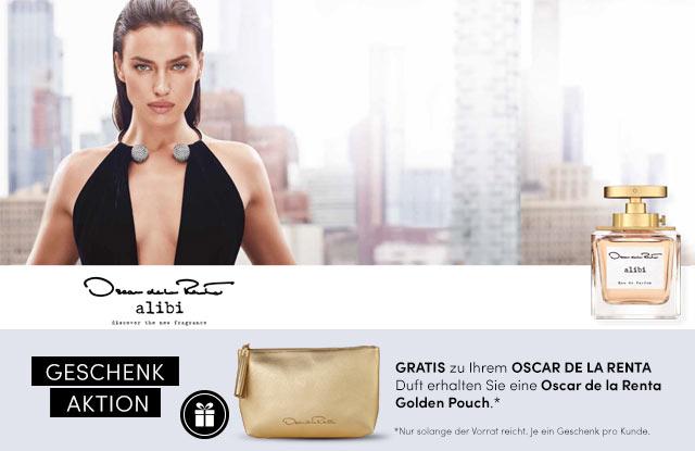 Neu: Oscar de la Renta Alibi Eau de Parfum - jetzt entdecken