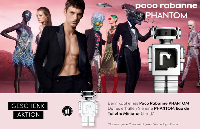 Neu: Paco Rabanne PHANTOM Eau de Toilette - jetzt entdecken