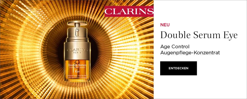 Neu: CLARINS Double Eye Serum - jetzt entdecken
