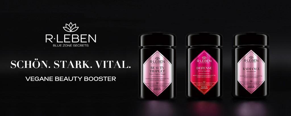 R-Leben - Vegane Beauty Booster - jetzt entdecken