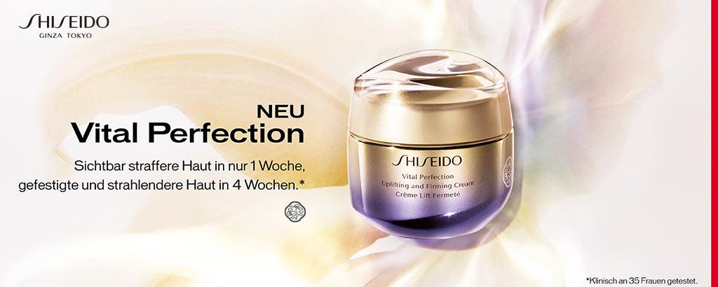 NEU: Shiseido Vital Perfection - jetzt entdecken