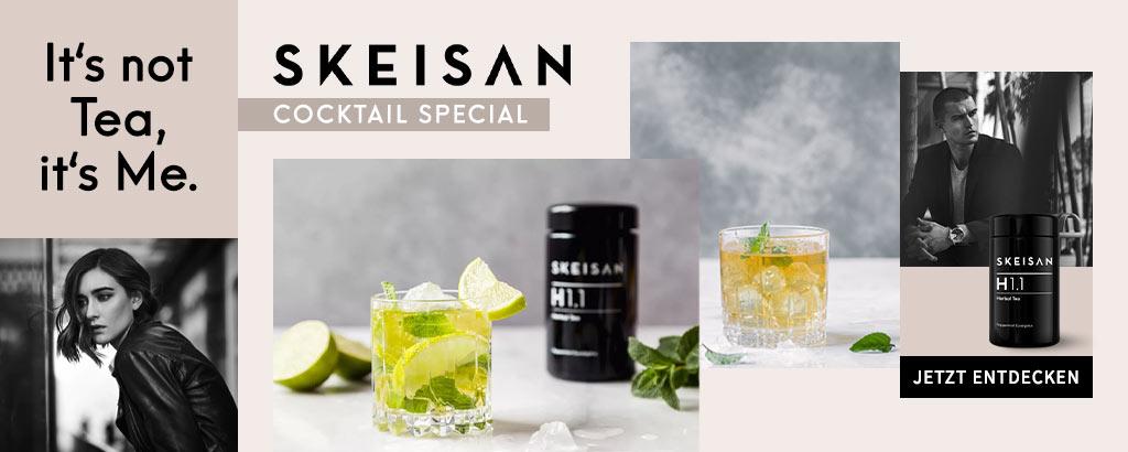 SKEISAN Cocktail Special - jetzt sommerliche Tee-Rezepte entdecken