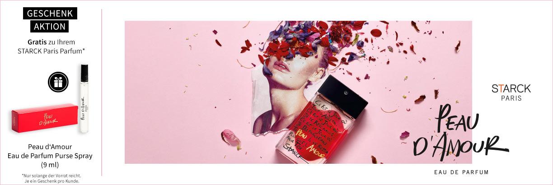 Neu im Shop: STARCK Paris Peau d'Amour Eau de Parfum - jetzt entdecken