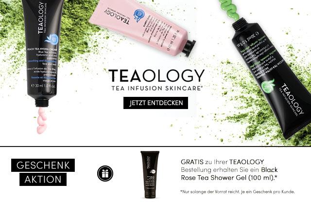 TEAOLOGY Tea Infusion Skincare - jetzt entdecken