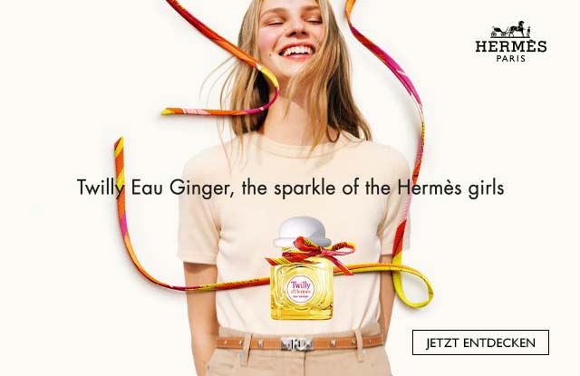 Neu: HERMÈS Twilly d'Hermès Eau Ginger - jetzt entdecken