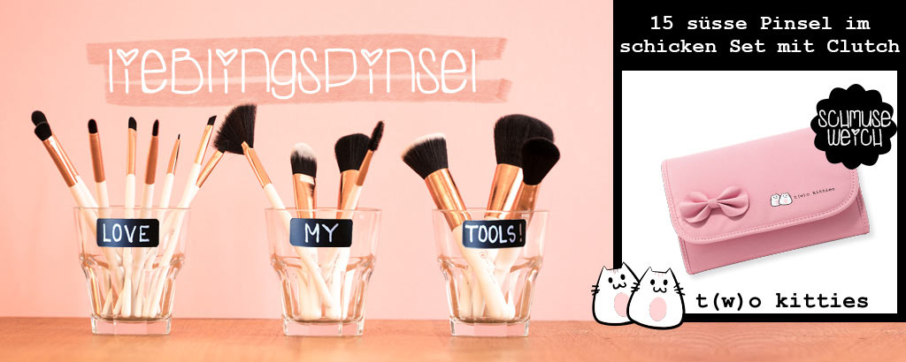NEU im Shop: T(w)o Kitties Pinselset - jetzt entdecken